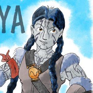 Retrato de Freya