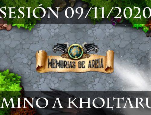 19 – El camino a Kholtarum